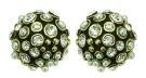 Eras of Elegance - Cream Pearl & Gold Stud Earrings