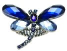 Crystal Dragonfly Stretch Ring