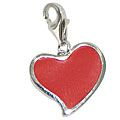 Chrysalis Red Heart Charm