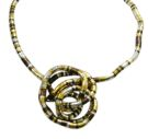 Flexi Snake Necklace - Rhodium/Haemetite/Gold