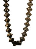 Haemetite Square Link Necklace