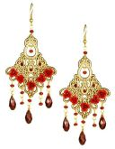 Ruby Victoriana Earrings