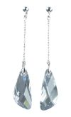 Crystal Swarovski Nugget Earrings