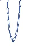 CHLOE Chain Necklace - Blue